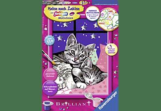 RAVENSBURGER Schlafende Katzen Malset