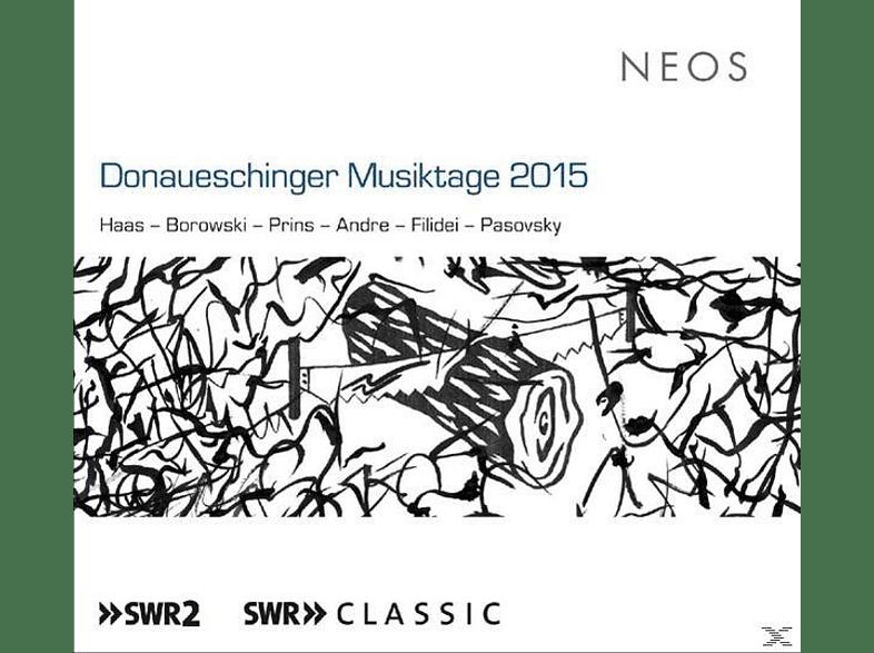 SWR Sinfonieorch.Baden-Baden Und Freiburg/+ - Donaueschinger Musiktage 2015 [SACD Hybrid]