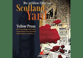 Die Größten Fälle Von Scotland Yard - Yellow Press Folge 26  - (CD)