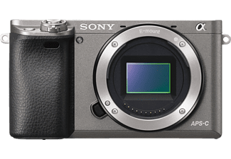 SONY Alpha 6000 Body - Appareil photo compact (Résolution photo effective: 24.3 MP) Gris