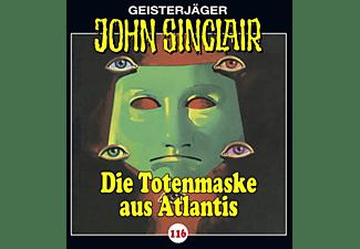 John Sinclair-folge 116 - Die Totenmaske aus Atlantis  - (CD)