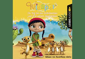 Cornelia Neudert - Wissper: Ein Tag bei den Erdmännchen und drei weitere Geschichten  - (CD)