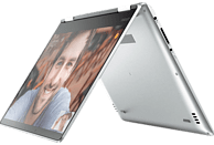 LENOVO Yoga 710, Convertible mit 14 Zoll Display, Core™ i7 Prozessor, 8 GB RAM, 512 GB SSD, GeForce 940MX, Silber