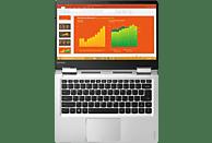 LENOVO Yoga 710, Convertible mit 14 Zoll Display, Core™ i5 Prozessor, 8 GB RAM, 256 GB SSD, HD-Grafik 620, Silber