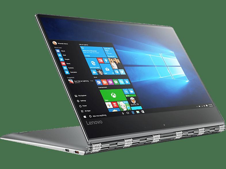 LENOVO YOGA 910, Convertible mit 13.9 Zoll Display, Core™ i7 Prozessor, 16 GB RAM, 1 TB SSD, HD-Grafik 620, Gun Metal