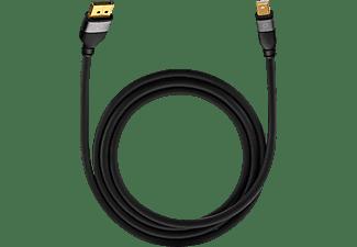 OEHLBACH Impact Plus M2 Mini-Displayportkabel, Schwarz