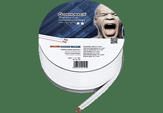 OEHLBACH Speaker Wire SP-15 Lautsprecherkabel, Weiß