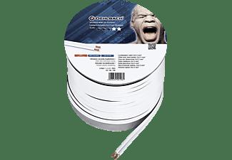 OEHLBACH Speaker Wire SP-25 Lautsprecherkabel, Weiß