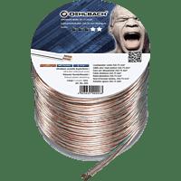 OEHLBACH Speaker Wire SP-7 Lautsprecherkabel, Transparent/Kupfer