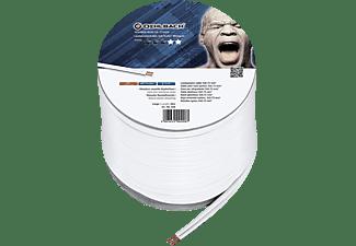 OEHLBACH Speaker Wire SP-7 Lautsprecherkabel, Weiß