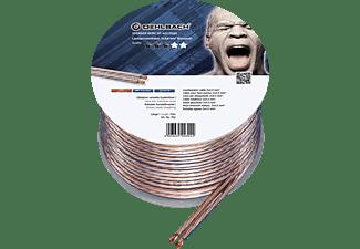 OEHLBACH Speaker Wire SP-40 Lautsprecherkabel, Transparent/Kupfer