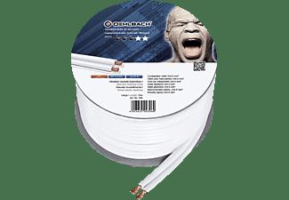 OEHLBACH Speaker Wire SP-40 Lautsprecherkabel, Weiß