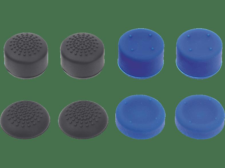 PIRANHA 397021 4x4 PS4 Controller Thump Grips für PS4, Blau/Schwarz