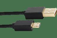 PIRANHA 397031 Charging Cable 4m für PS4 Controller Ladekabel für PS4, Schwarz