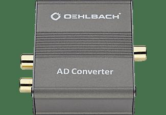 OEHLBACH AD Bridge A/D-Wandler, Dunkelbraun/Metallic