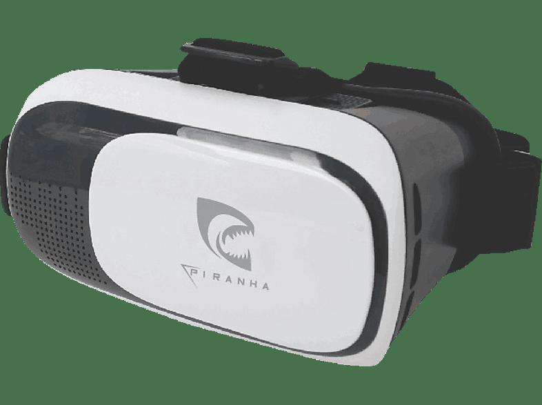 """PIRANHA 397371 VR-Brille für Android Smartphones und Iphones 4""""-6"""""""