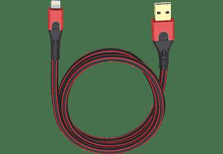 OEHLBACH USB Evolution LI Lightning Kabel passend für: Apple Schwarz/Rot