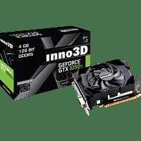 INNO3D GeForce® GTX 1050Ti Compact X1 4GB (N105T-1SDV-M5CM) (NVIDIA, Grafikkarte)