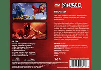 VARIOUS - 001 - LEGO NINJAGO HÖRSPIELBOX  - (CD)