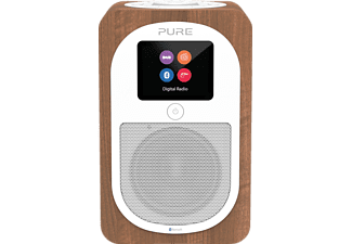 PURE Radio Evoke H3 mit DAB+, Bluetooth, walnuß