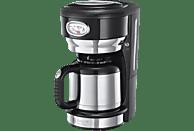 RUSSELL HOBBS 21711-56 Retro Classic Noir Kaffeemaschine Schwarz/Edelstahl