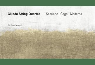 Cikada String Quartet - In Due Tempi  - (CD)