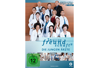 In aller Freundschaft - Die jungen Ärzte - Staffel 2, Folgen 43 - 63 DVD
