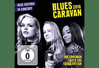Ina Forsman, Layla Zoe, Tasha Taylor - Blues Caravan 2016  - (CD + DVD Video)