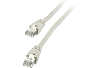 VIVANCO Nätverk Cat5e RJ45. 15m. - Grå