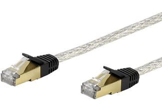 VIVANCO Nätverk CAT6 RJ45. 3m. - Transparent