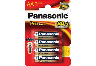 PANASONIC BATTERIES LR6PPG/4BP