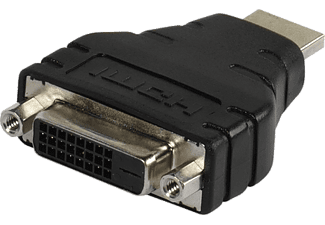 VIVANCO HDMI Kompaktadapter HDMI Stecker auf DVI-D Kupplung