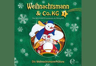 Weihnachtsmann & Co.KG - 001 - DIE WEIHNACHTSMANN-PRÜFUNG  - (CD)
