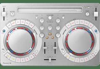 PIONEER DJ DJ Software Controller DDJ-WEGO4 Tragbarer 2-Kanal-Controller, weiß