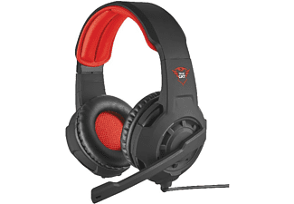 Auriculares gaming - TRUST Trust GXT 310 Binaurale Diadema Negro, Rojo auricular con micrófono