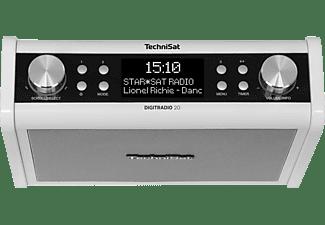 TECHNISAT DIGITRADIO 20 Digitalradio, digital, DAB+, DAB, FM, Weiß