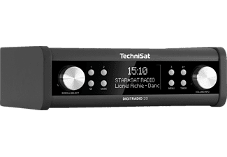 TECHNISAT DIGITRADIO 20 Digitalradio, digital, DAB+, DAB, FM, Anthrazit