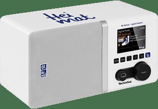 TECHNISAT DIGITRADIO 300 BR HEIMAT EDITION Digitalradio, digital, DAB+, DAB, FM, Weiß