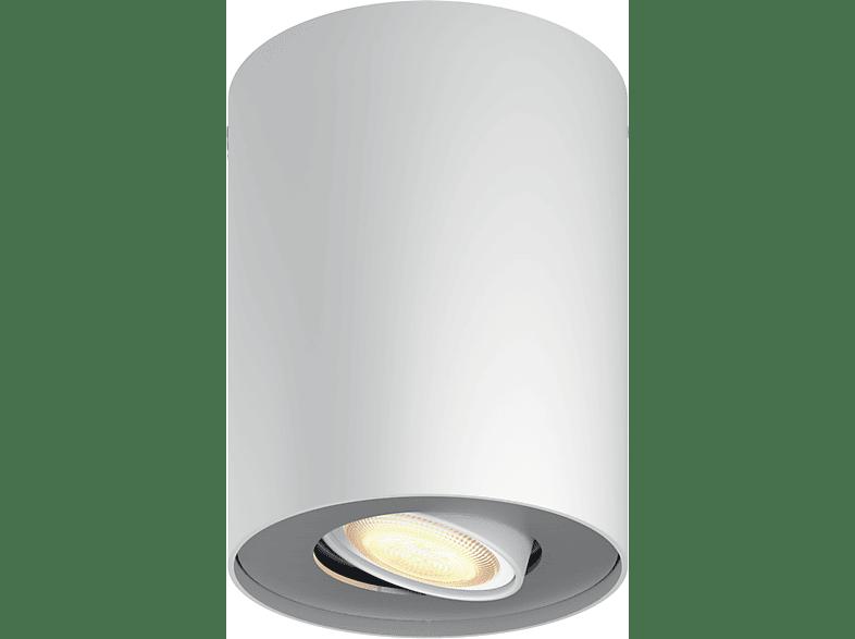 PHILIPS 5633031P8 Hue White Ambiance Pillar LED Spot, Weiß