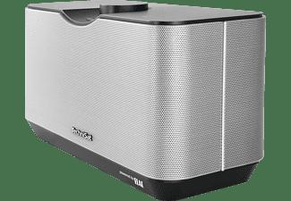 TECHNISAT 0000/9171 Audiomaster MR 2 Multiroom-Lautsprecher, Bluetooth, W-LAN Schnittstelle=802.11a/b/g/n, Schwarz/Silber