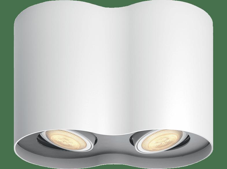 PHILIPS 5633231P7 Hue White Ambiance Pillar  LED Spot, Weiß