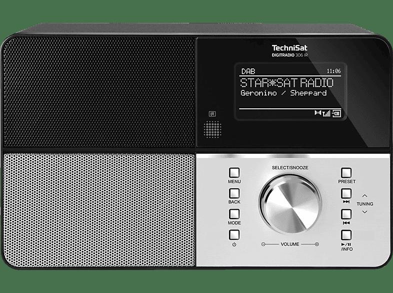 TECHNISAT DIGITRADIO 306 IR Internetradio (Schwarz)