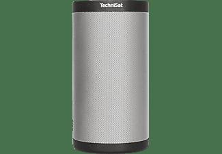 TECHNISAT 0000/9160 Trechnisound MR 2 Multiroom-Lautsprecher App-steuerbar, W-LAN Schnittstelle=802.11a/b/g/n, Schwarz/Silber