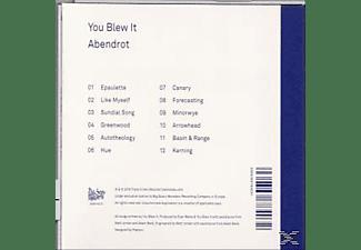 You Blew It - Abendrot  - (CD)