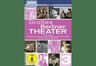 Großes Berliner Theater,Vol.3 - Bertolt Brecht DVD
