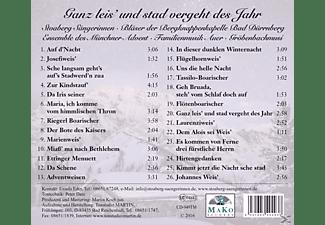 Stoaberg Sängerinnen - Ganz leisÆ und stad vergeht des Jahr  - (CD)