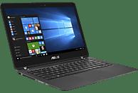 ASUS UX360UAK-C4221T, Convertible mit 13.3 Zoll Display, Core™ i7 Prozessor, 8 GB RAM, 256 GB SSD, Intel® HD-Grafik, Schwarz