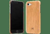 WOODCESSORIES EcoCase Slim Case , Backcover, Apple, iPhone 7, iPhone 8, Echtholz, Kirschholz