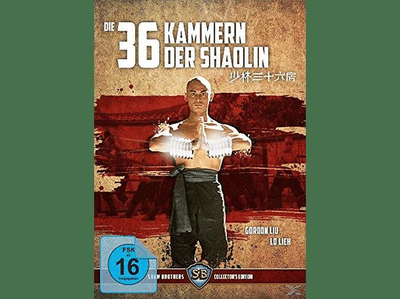 Die 36 Kammern der Shaolin [Blu-ray + DVD]