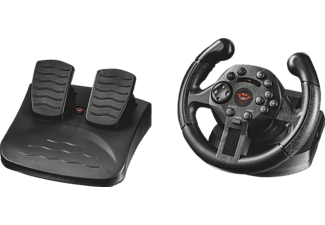 TRUST GXT 570 Rennlenkrad mit Fußpedalen